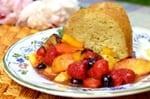 Rose Geranium Pound Cake